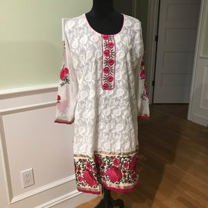 Indian/ Pakistani Embroidered Suit